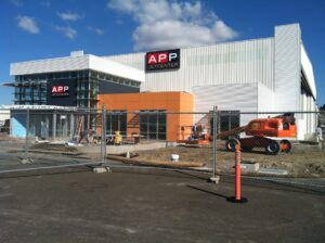 Expansion of APP Jet Center Hayward nearing completion.